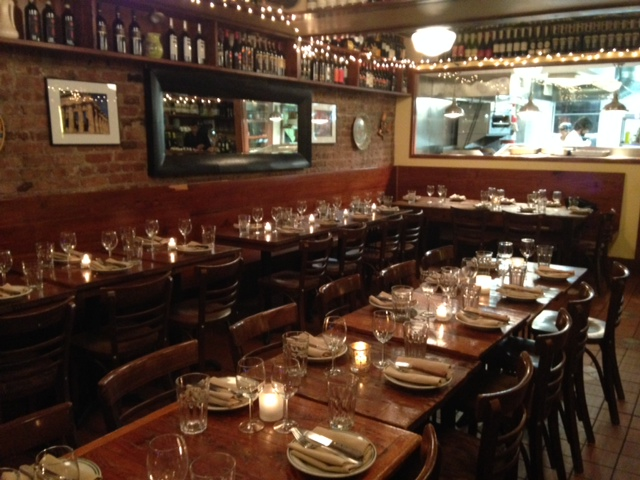 Full Restaurant Buy-Out event space at Cacio e Vino in New York City, NYC, NY/NJ Area