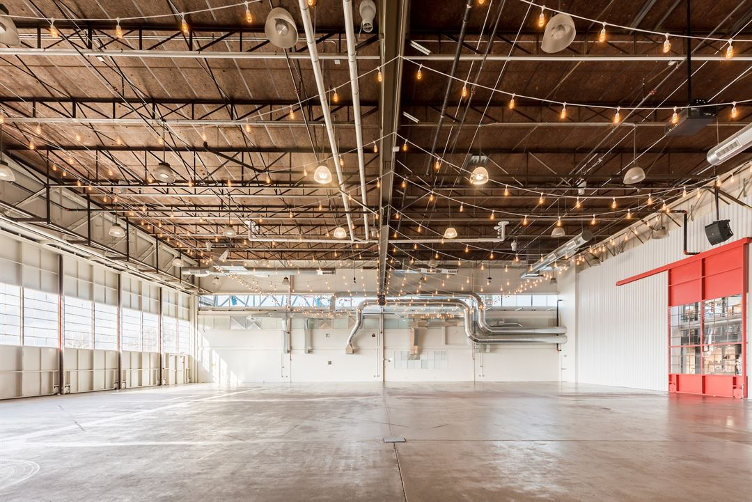 The Hangar - Stanley Marketplace event space in denver