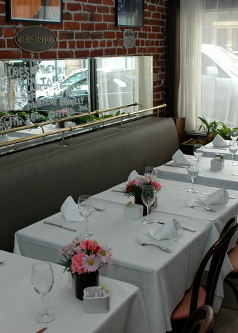Main Dining Room event space at Le Central in San Francisco, SF Bay Area, San Fran