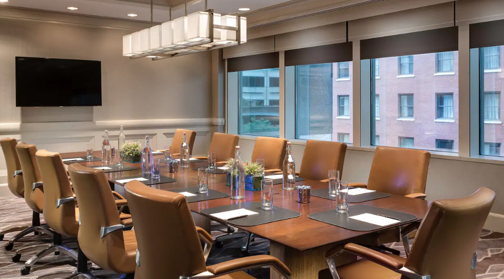Boardroom event space at Hyatt Centric in Chicago, Chicagoland Area