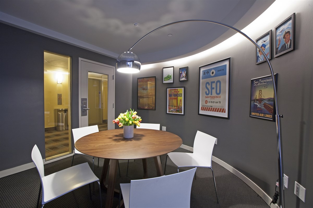 Gate 2 Conference Room event space at Cova Hotel in San Francisco, SF Bay Area, San Fran