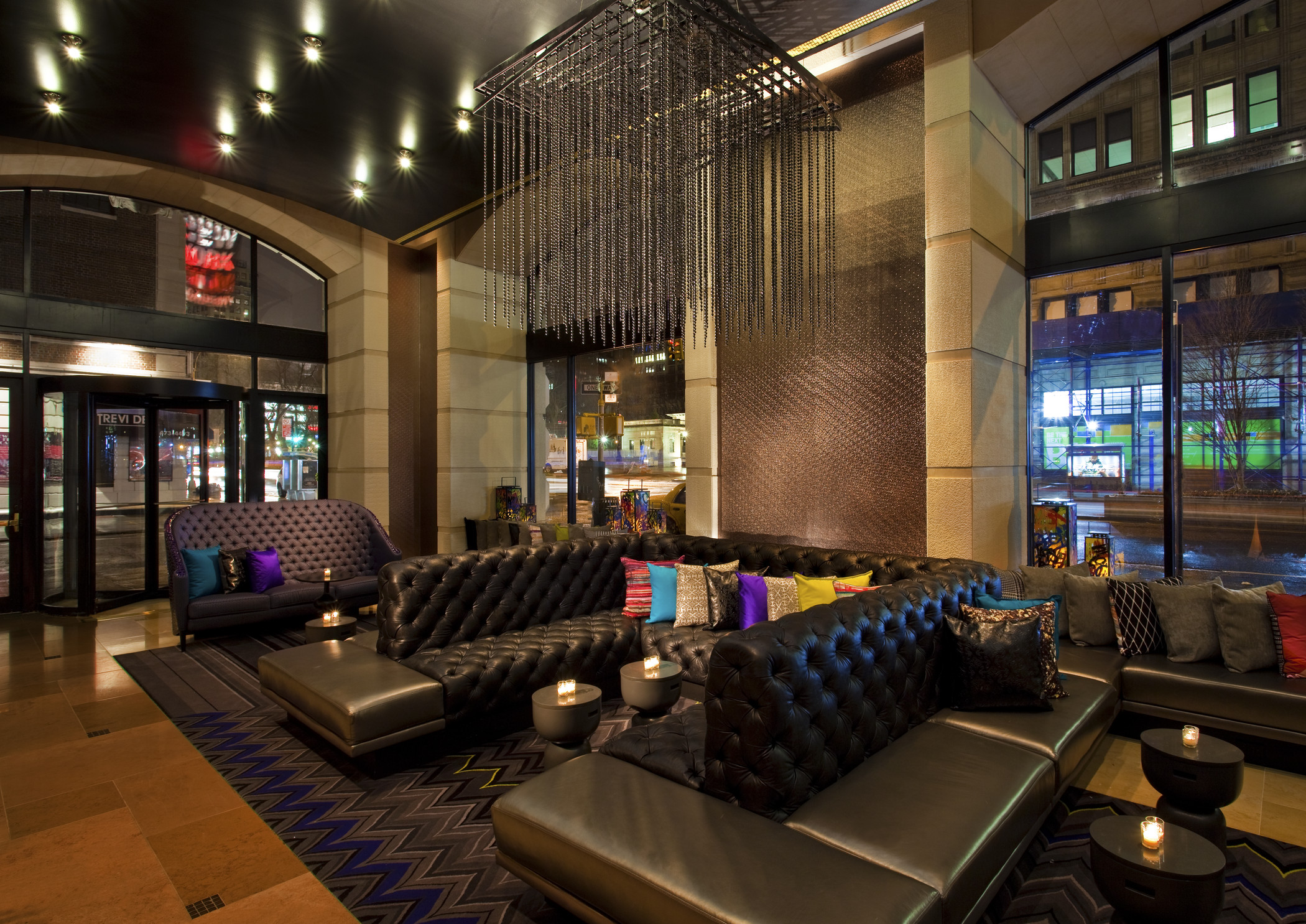 Book irvington corporate events meetings happy hours - The living room at the w union square ...