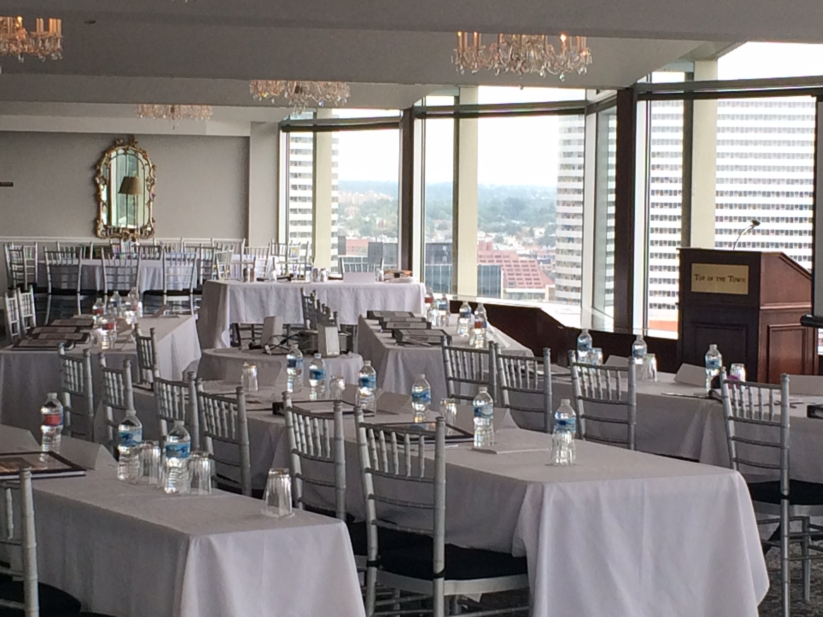 Top of the Town event space in Washington DC, Maryland, Virginia, DC Area