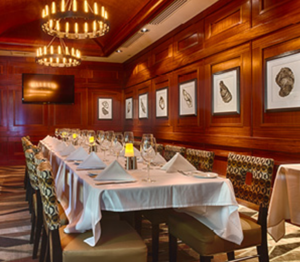 Oyster Room event space at McCormick & Schmick's Seafood & Steaks - San Jose, CA in SF