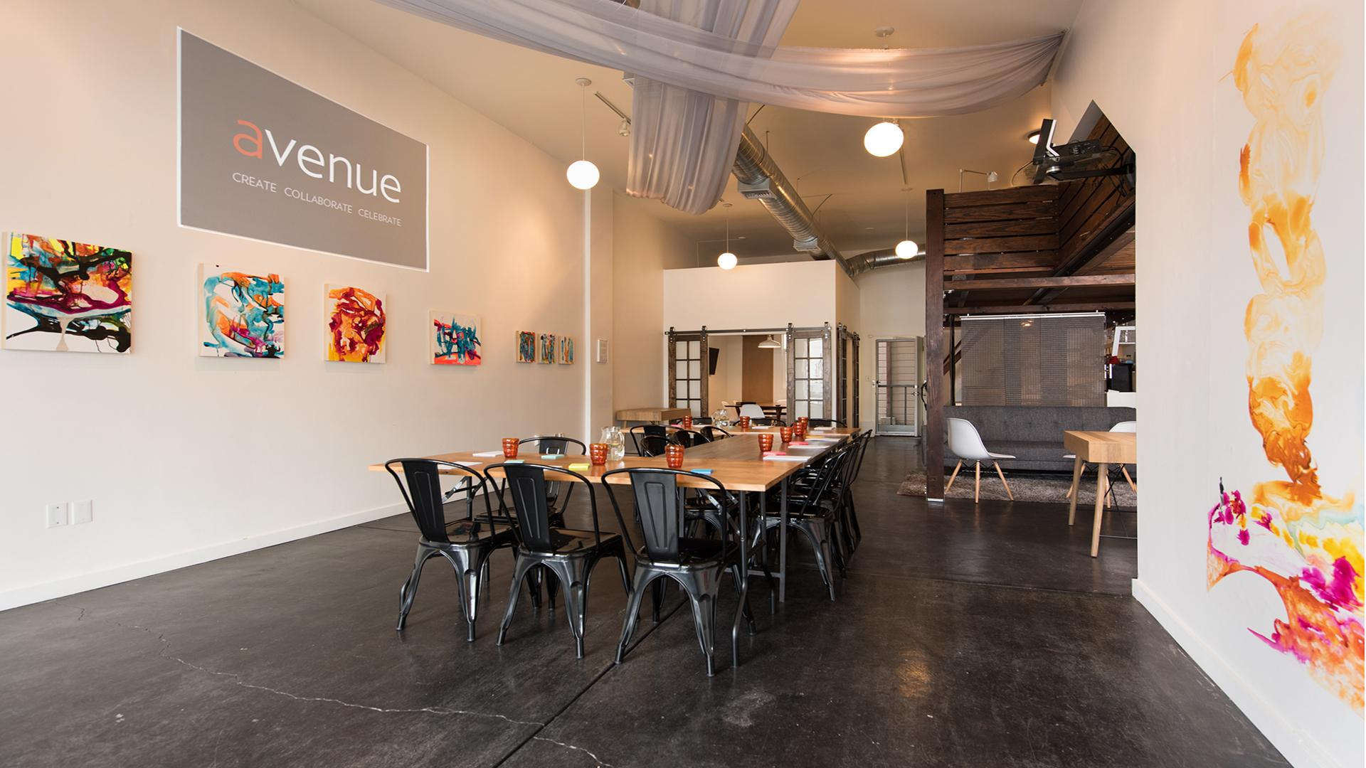 Avenue event space at Avenue in San Francisco, SF Bay Area, San Fran