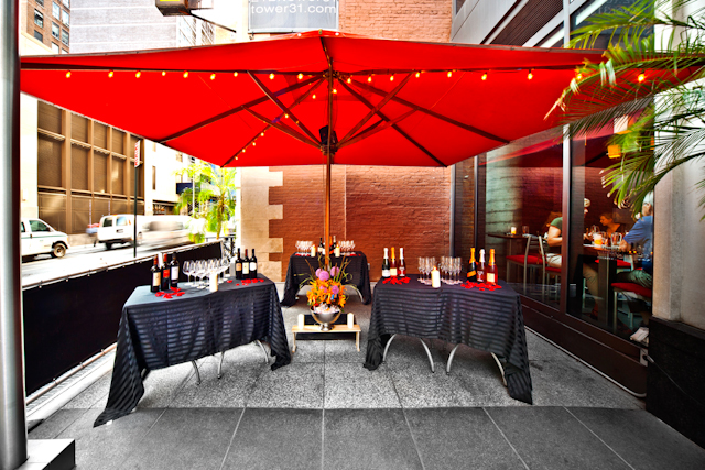 Photo #10 Semi Private Patio at AYZA Wine & Chocolate Bar (Midtown)