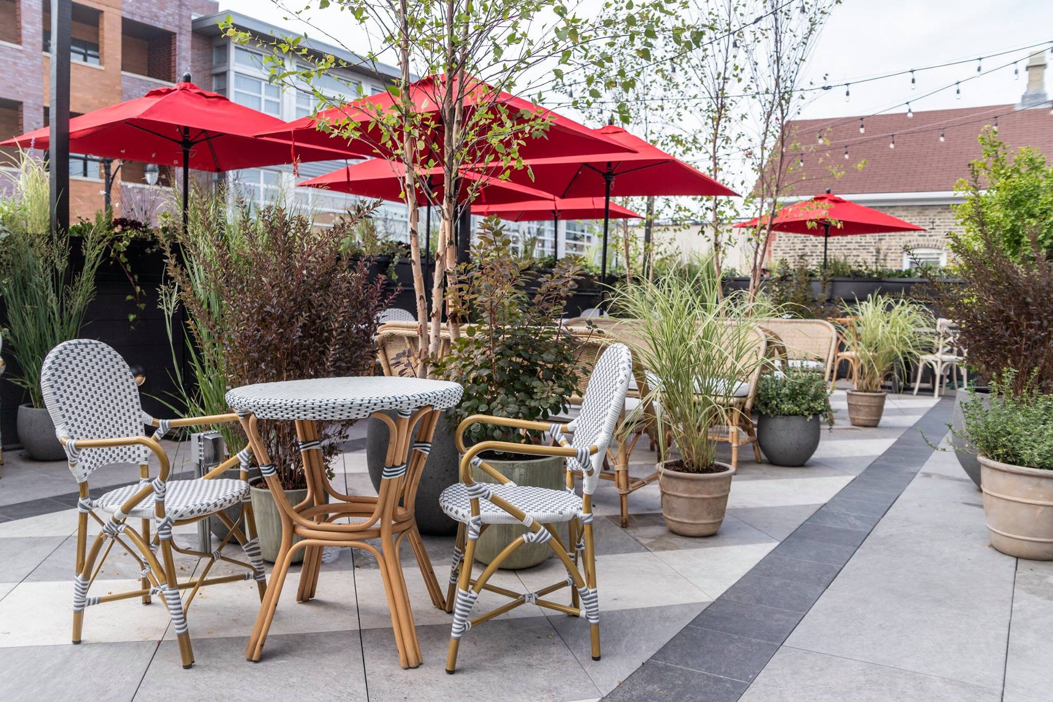 Rooftop Patio event space at Etta in Chicago, Chicagoland Area