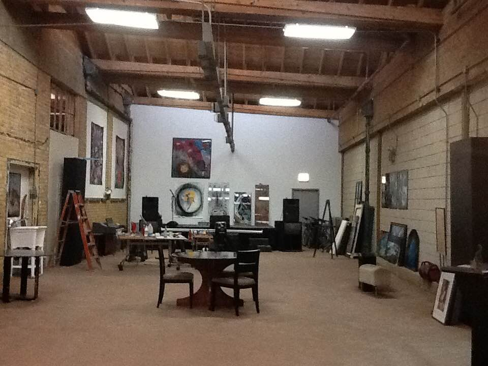 The Black Couch Studio and Gallery event space in Chicago, Chicagoland Area