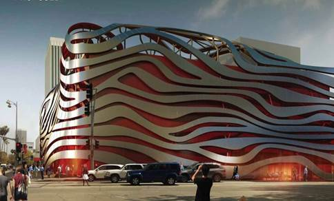 FULL VENUE (Sun - Thu) event space at Petersen Automotive Museum in California