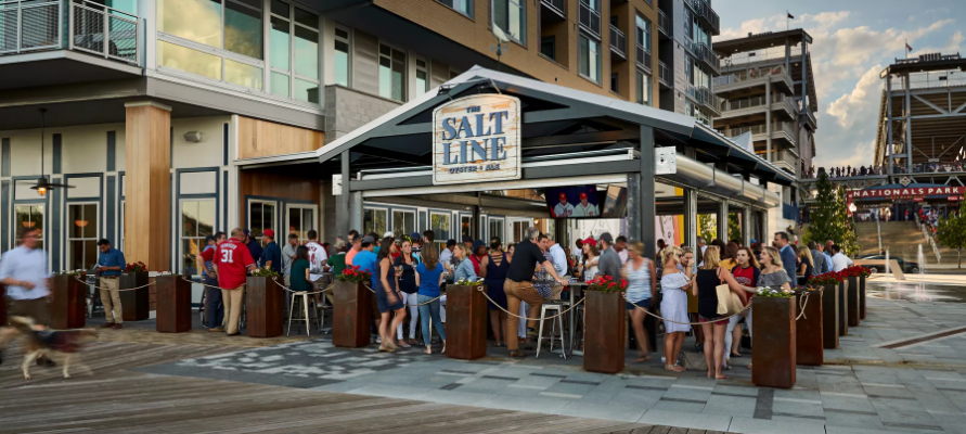 Photo #4 Outdoor Bar and Patio at The Salt Line