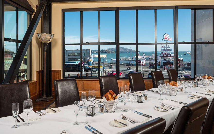 Private Dining Room event space at Bistro Boudin in SF