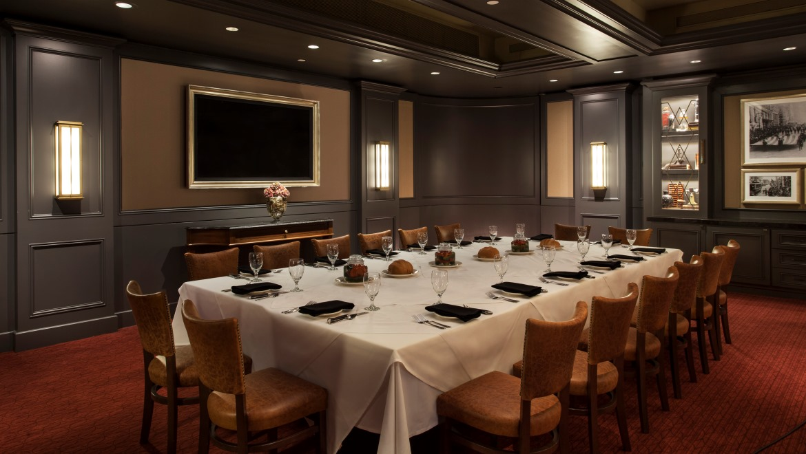 Photo #3 Bob's Private Dining Room  at Bob's Steak & Chop House at Omni Berkshire Place
