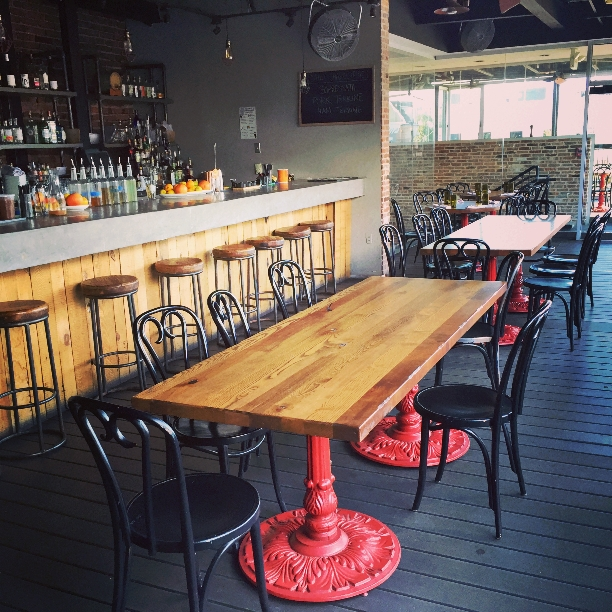 Upstairs Bar event space at Driftwood Kitchen in Washington DC, Maryland, Virginia, DC Area