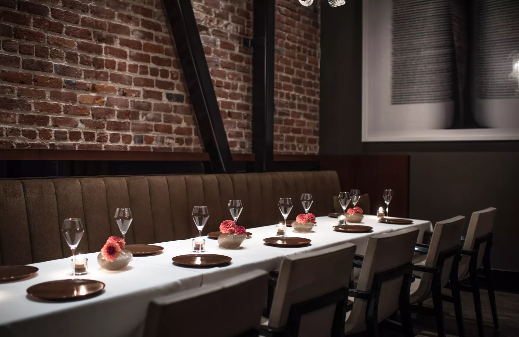 West Private Dining Room event space at Quince in San Francisco, SF Bay Area, San Fran