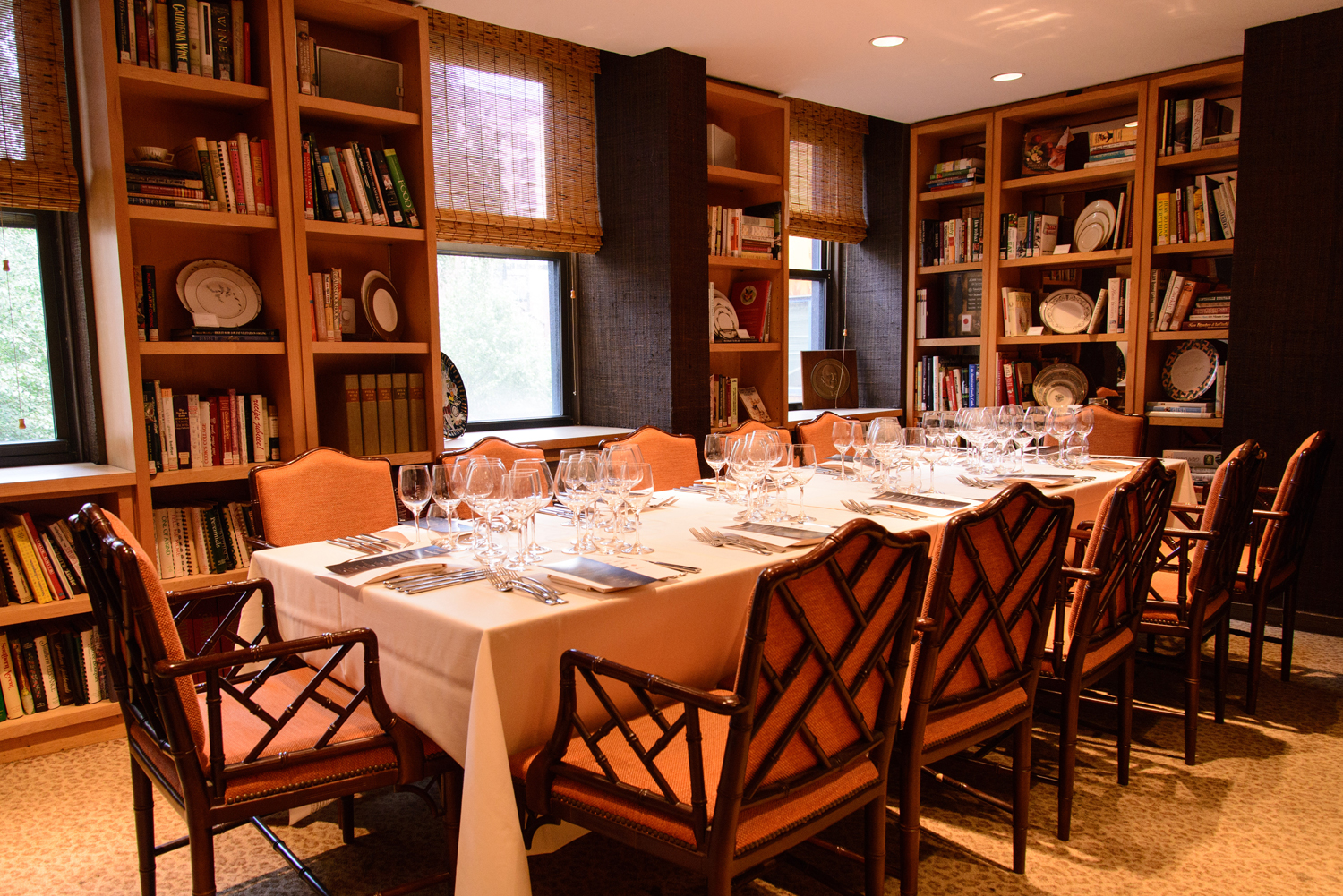 Peter Kump Boardroom event space at The James Beard House in New York City, NYC, NY/NJ Area