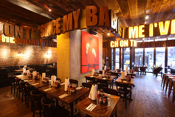 Full Venue Buyout event space at Southern Hospitality BBQ (Hell's Kitchen) in New York City, NYC, NY/NJ Area