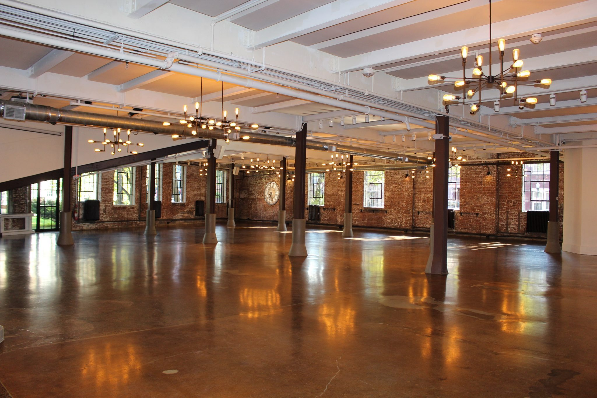 Main Space event space at Senate Garage in Greater New York