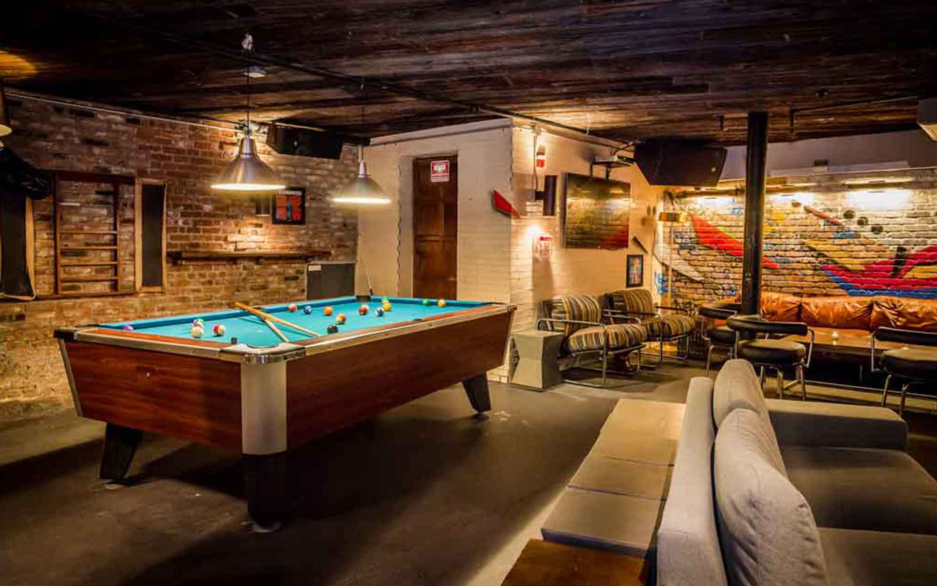 Photo #4 Pool Table Area at Troy Liquor Bar