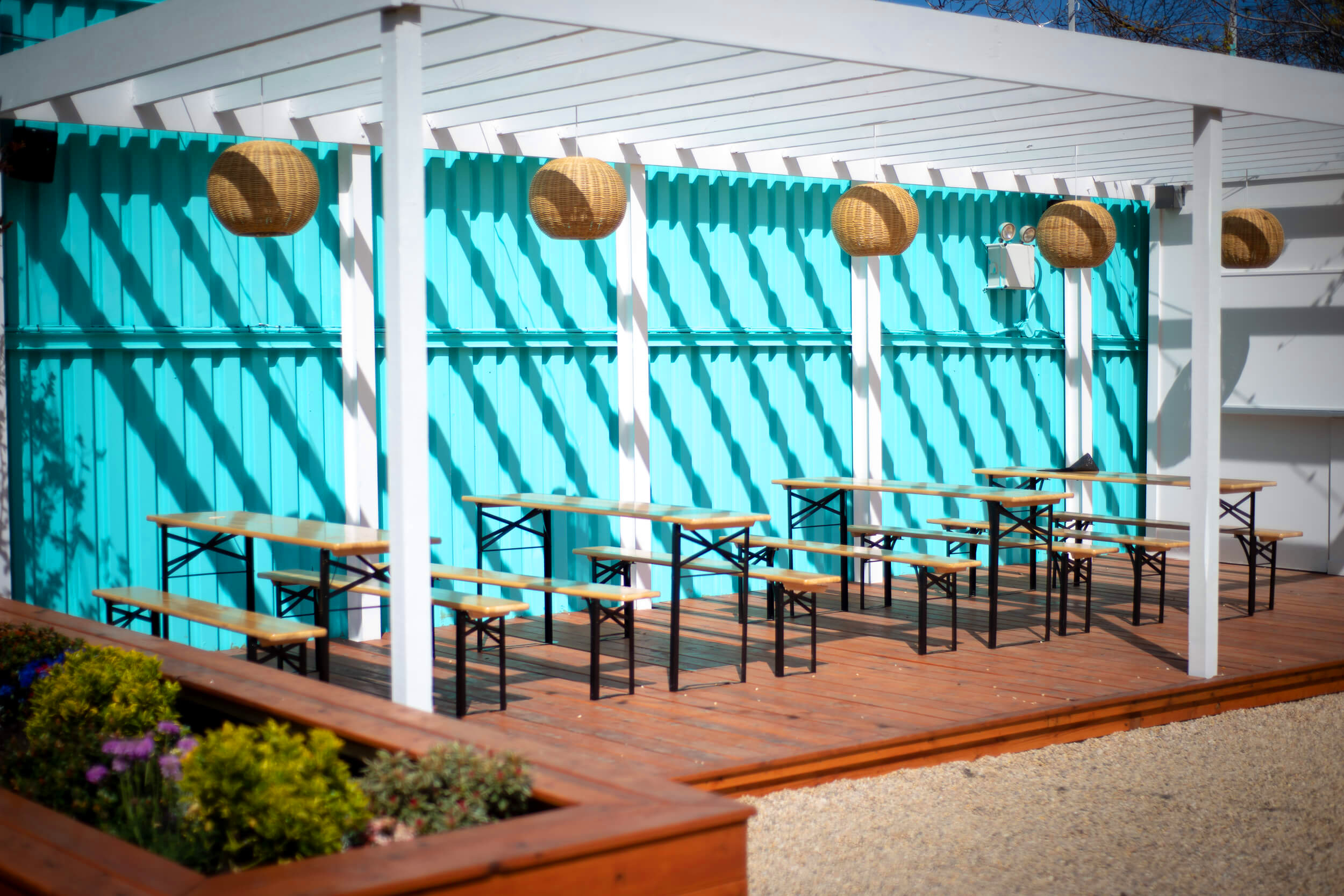 Photo #2 Outdoor Event Space at The Springs Brooklyn