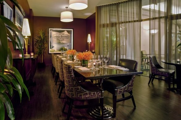 Photo #2 Gaby Private Dining Room  at Gaby Brasserie at Francaise Sofitel New York
