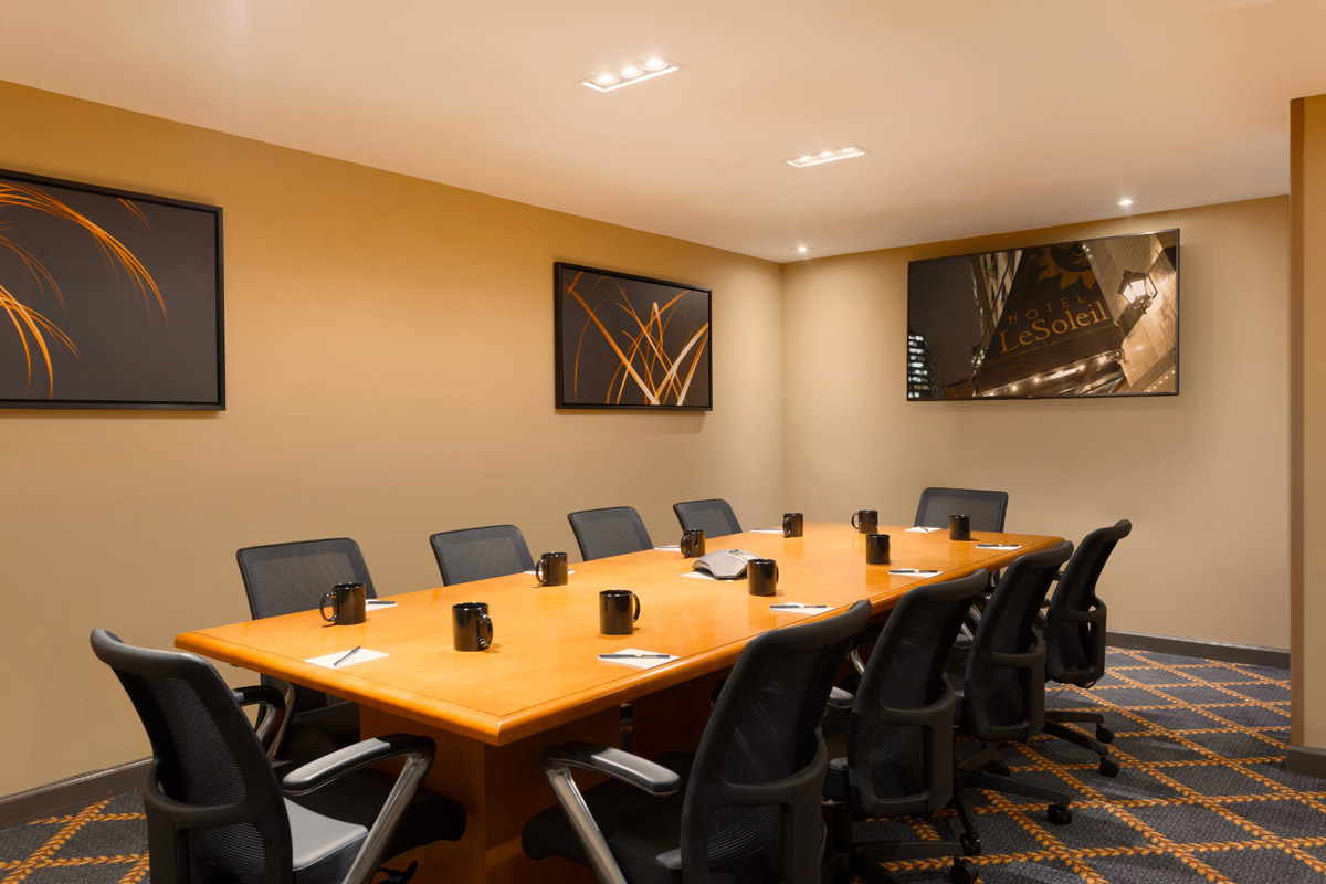 Photo #2 Epicurean Board Room at Executive Hotel Le Soleil