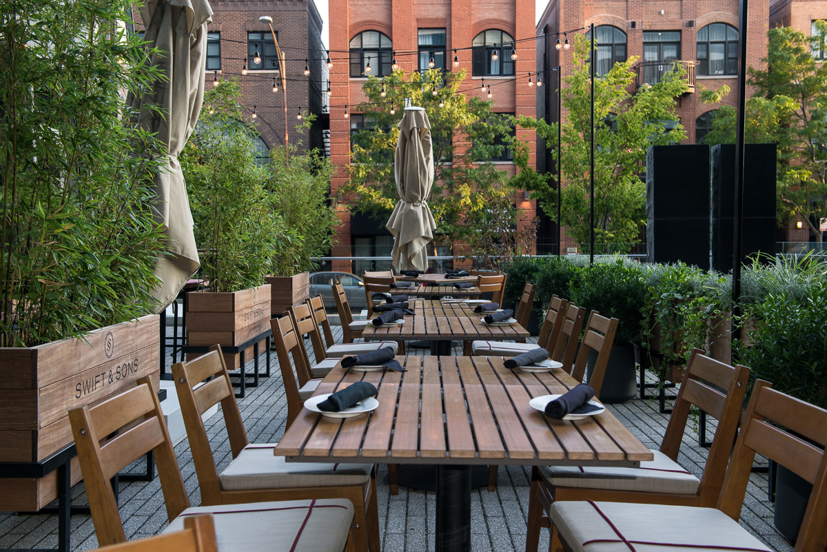 Photo #2 Courtyard at Swift & Sons Steakhouse