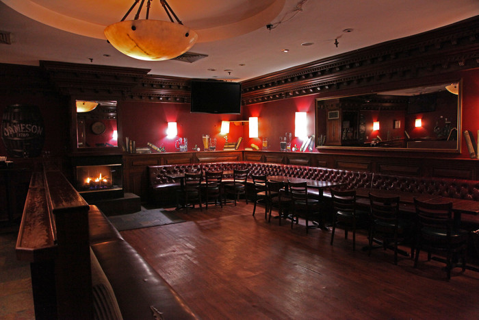 Private Back Bar event space at Irish Exit in New York City, NYC, NY/NJ Area