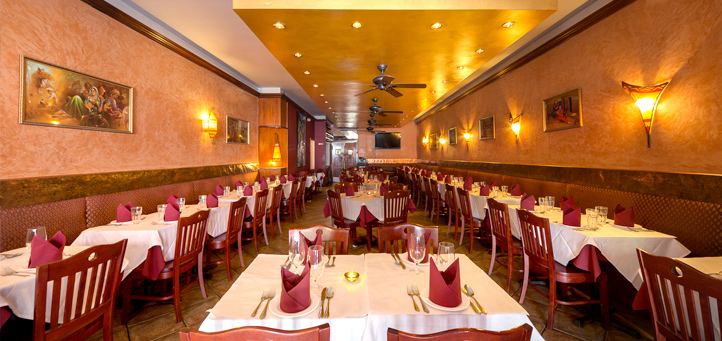 Main Space event space at Basera Indian Cuisine in New York City, NYC, NY/NJ Area