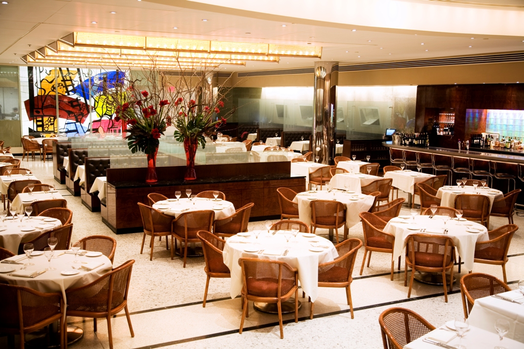Restaurant Full Main Dining Room event space at Brasserie 8 1/2 in New York City, NYC, NY/NJ Area