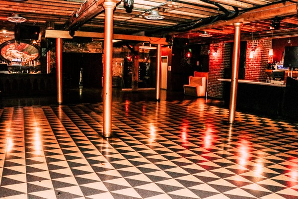 Basement event space at The Church Nightclub in denver