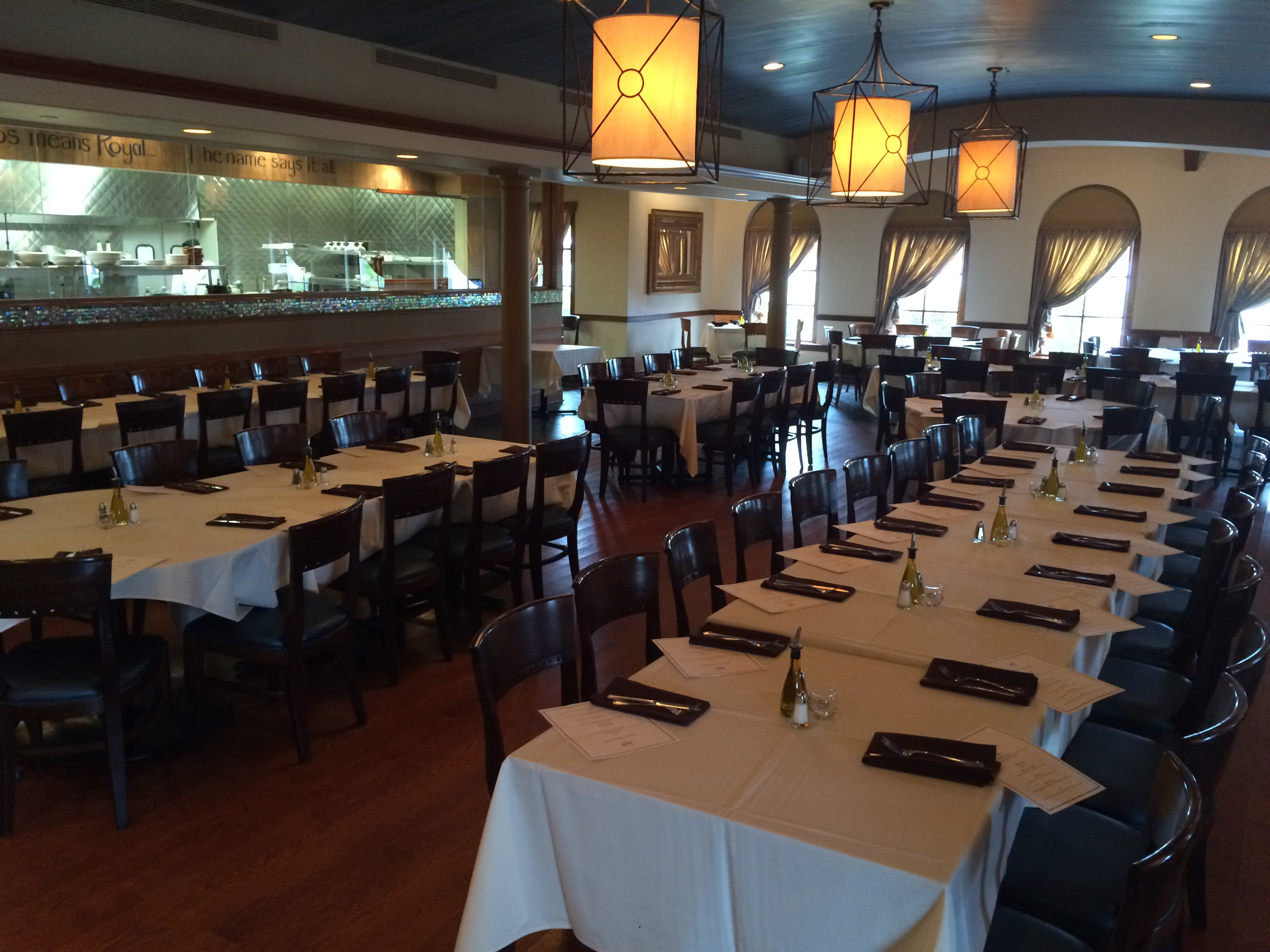 Photo #2 Main Dining Room at Basils Greek Dining